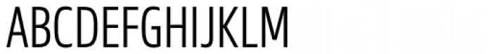 Sans Beam Head Semi Light Font UPPERCASE