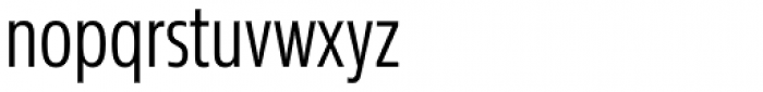 Sans Beam Head Semi Light Font LOWERCASE