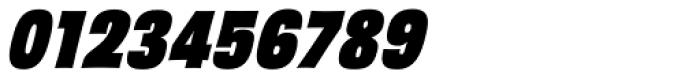 Sansational JF Pro Heavy Italic Font OTHER CHARS