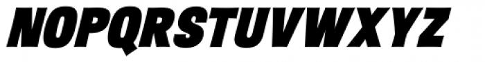 Sansational JF Pro Heavy Italic Font UPPERCASE