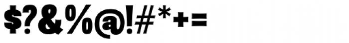 Sansational JF Pro Heavy Font OTHER CHARS