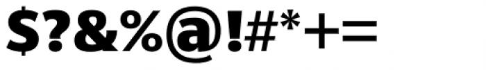 Sanserata Black Font OTHER CHARS