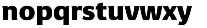Sanserata Black Font LOWERCASE