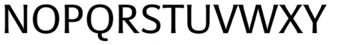 Sanserata Font UPPERCASE
