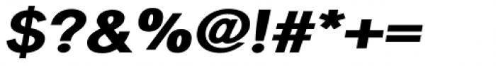 Sanstone 06 Extra Heavy Italic Font OTHER CHARS