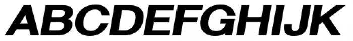 Sanstone 06 Extra Heavy Italic Font UPPERCASE