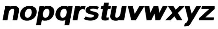 Sanstone 06 Extra Heavy Italic Font LOWERCASE