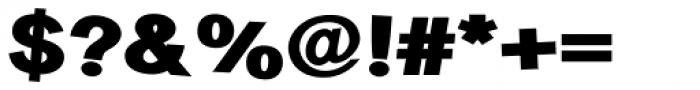 Sanstone 98 Fat Jumbled Font OTHER CHARS