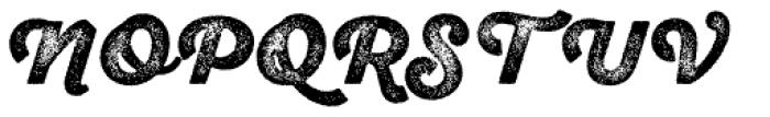 Sant Elia Rough Alt Black Three Font UPPERCASE