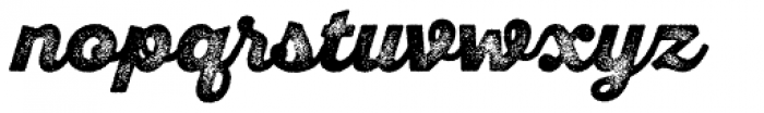 Sant Elia Rough Alt Black Three Font LOWERCASE