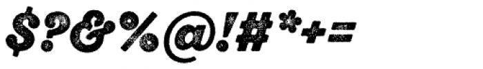 Sant Elia Rough Alt Black Two Font OTHER CHARS