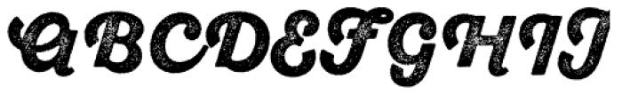 Sant Elia Rough Alt Black Two Font UPPERCASE