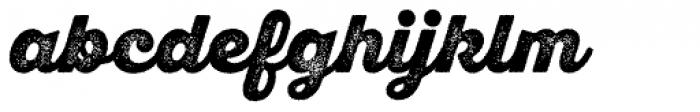 Sant Elia Rough Alt Black Two Font LOWERCASE