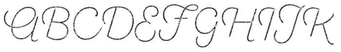 Sant Elia Rough Alt Ex Light Two Font UPPERCASE