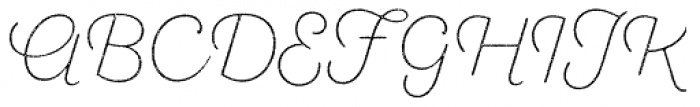 Sant Elia Rough Alt Ex Light Font UPPERCASE