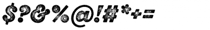 Sant Elia Rough Black Three Font OTHER CHARS