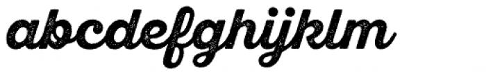 Sant Elia Rough Bold Font LOWERCASE