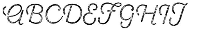 Sant Elia Rough Light Three Font UPPERCASE