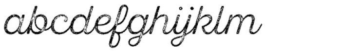 Sant Elia Rough Light Three Font LOWERCASE