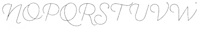 Sant Elia Rough Line Font UPPERCASE