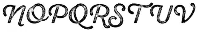 Sant Elia Rough Regular Three Font UPPERCASE