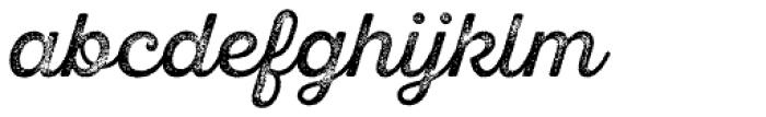 Sant Elia Rough Regular Three Font LOWERCASE