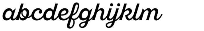 Sant Elia Script Alt Regular Font LOWERCASE