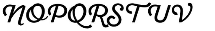Sant Elia Script Regular Font UPPERCASE