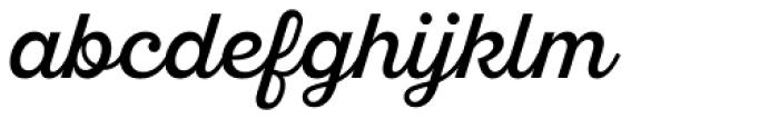 Sant Elia Script Regular Font LOWERCASE