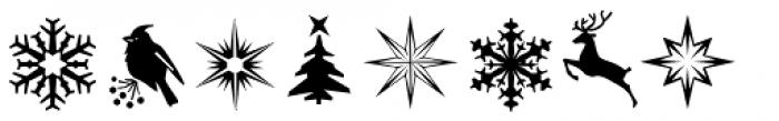 Santa Claus Deco Font OTHER CHARS