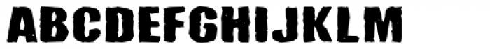 Santa Mensch Font UPPERCASE