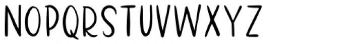 Santa Monica Sans Font UPPERCASE