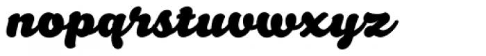 Santeli Bold Font LOWERCASE