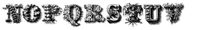 Santerini Initials Font UPPERCASE