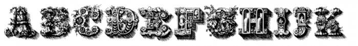 Santerini Initials Font LOWERCASE
