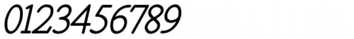 Santiago BTN Oblique Font OTHER CHARS