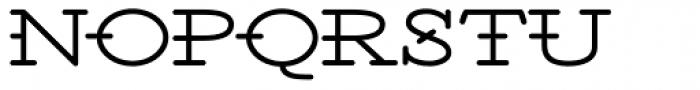 Santiago BTN Wide Font UPPERCASE