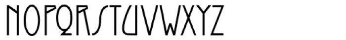 Santini Font UPPERCASE
