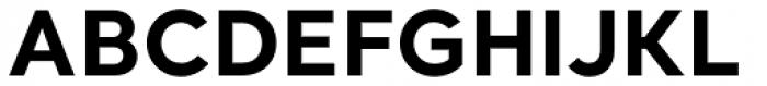 Santral Bold Font UPPERCASE