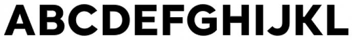 Santral Extra Bold Font UPPERCASE