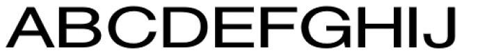 Sanzettica 4 Bold Expd Font UPPERCASE