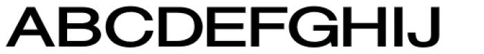 Sanzettica 5 Heavy Expd Font UPPERCASE