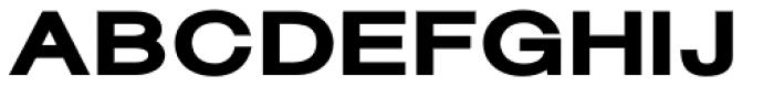 Sanzettica 7 Ultra Expd Font UPPERCASE