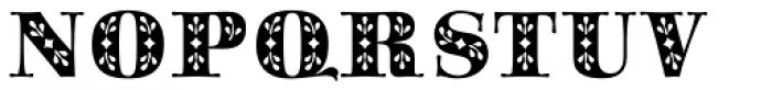 Saphir Font UPPERCASE