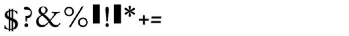 Sarabande Font OTHER CHARS