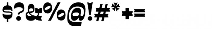 Sarastrada Black Font OTHER CHARS