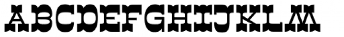 Sarastrada Black Font UPPERCASE