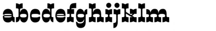 Sarastrada Black Font LOWERCASE