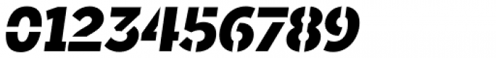 Sargento Gorila Italic Font OTHER CHARS