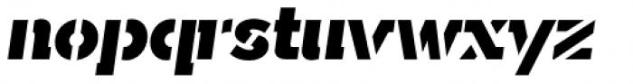 Sargento Gorila Italic Font LOWERCASE